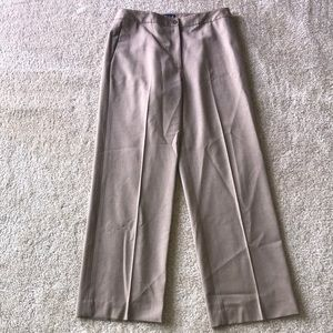 Ann Taylor Dress Work Pants Slacks Beige